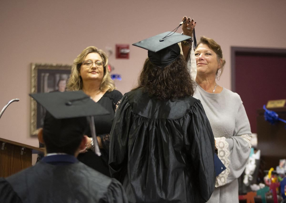 Graduates At Detention Center Ceremony Celebrate Difficult Important Lessons News Victoriaadvocate Com