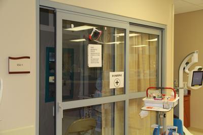 Negative pressure room at Matagorda County hospital