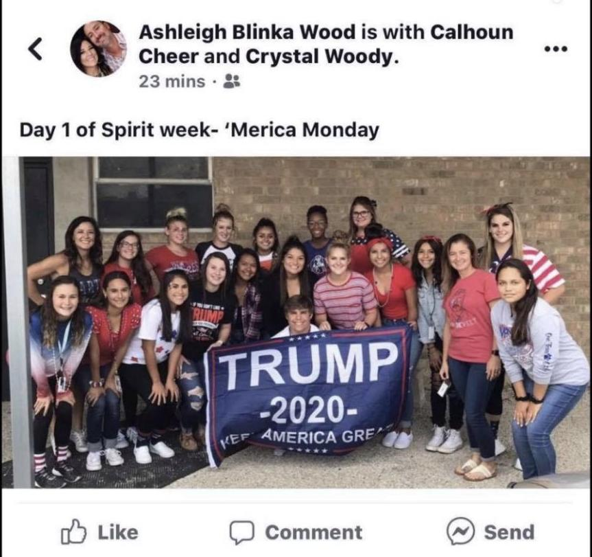 Calhoun teacher deletes political Facebook post