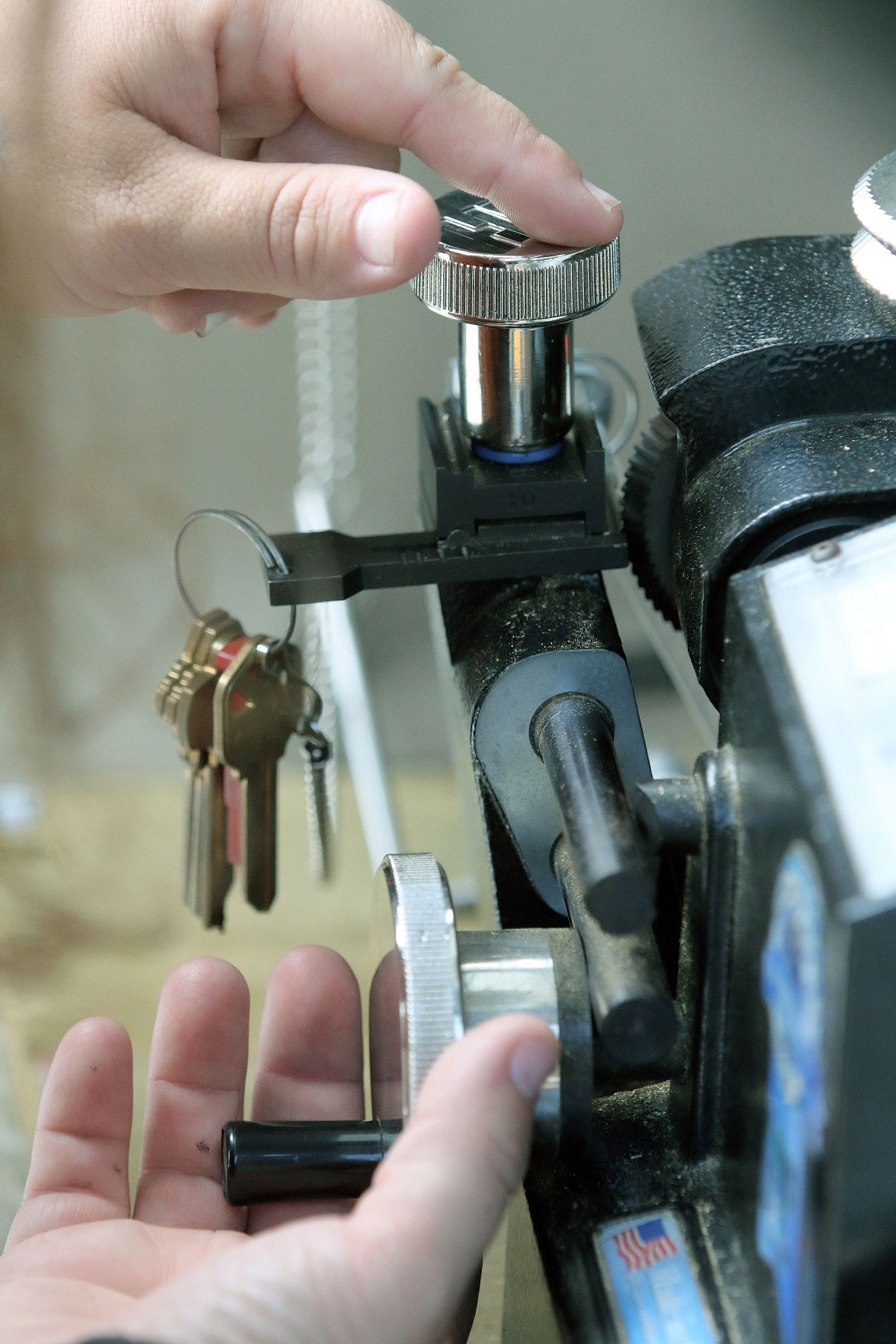 Key Locked In Ignition >> Woman locksmith making inroads in man's world | Business | victoriaadvocate.com