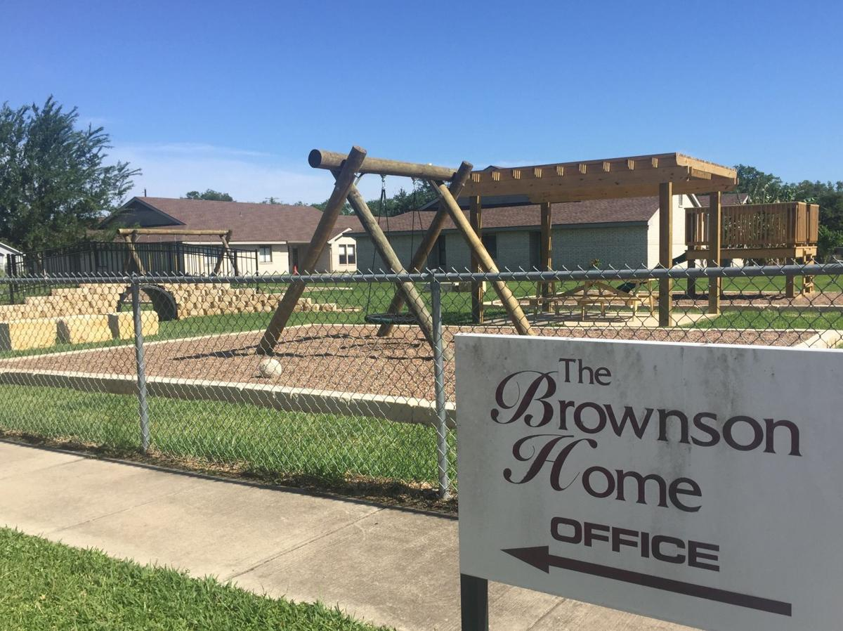 Brownson Home gets new playscape