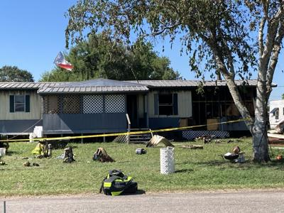 One confirmed victim at scene of mobile home fire, homicide investigation underway