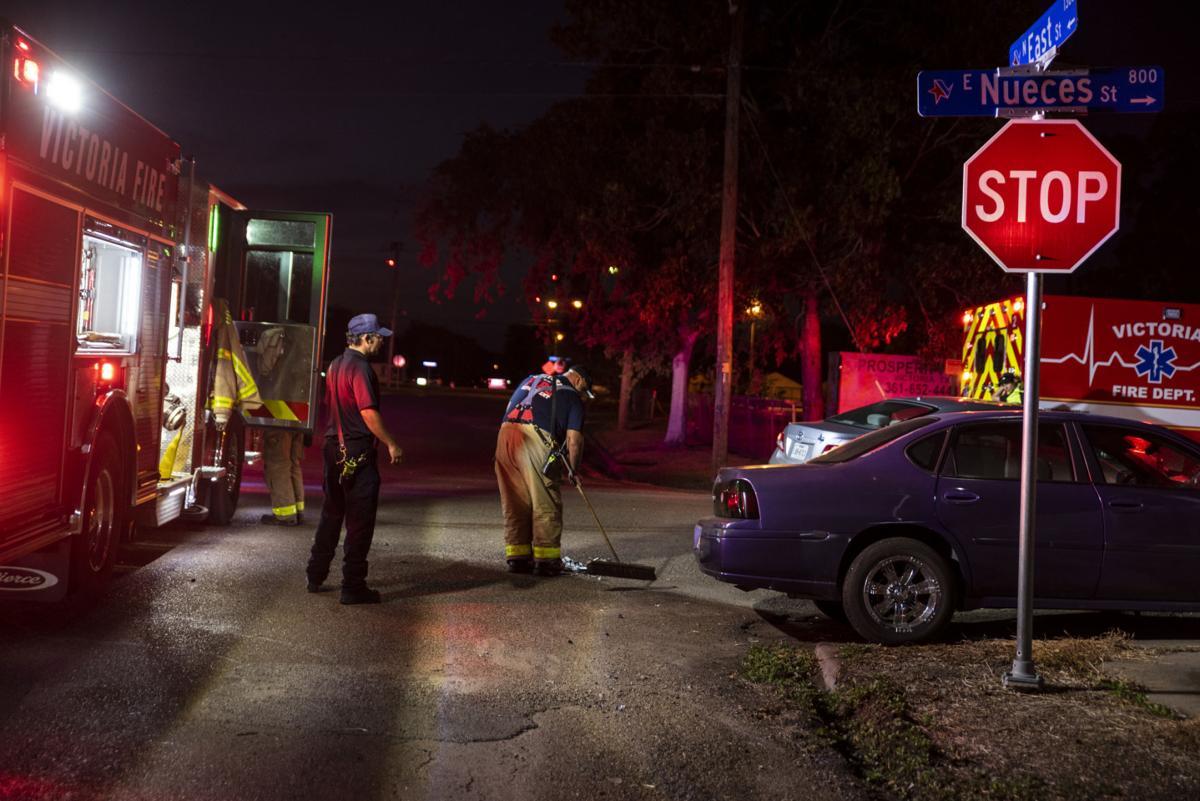 2 transported after crash on East Nueces Street