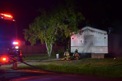 Fire damages vacant Bloomington mobile home