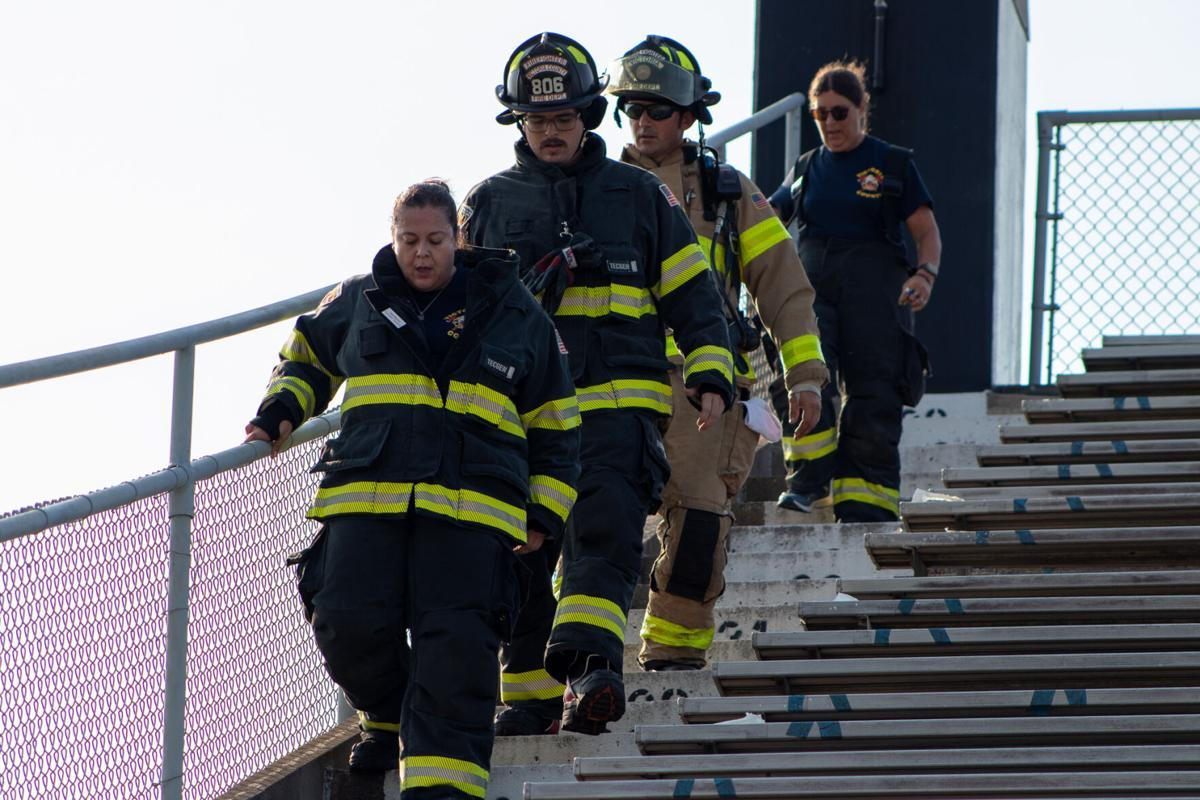 9/11 20th anniversary ceremony and stair climb