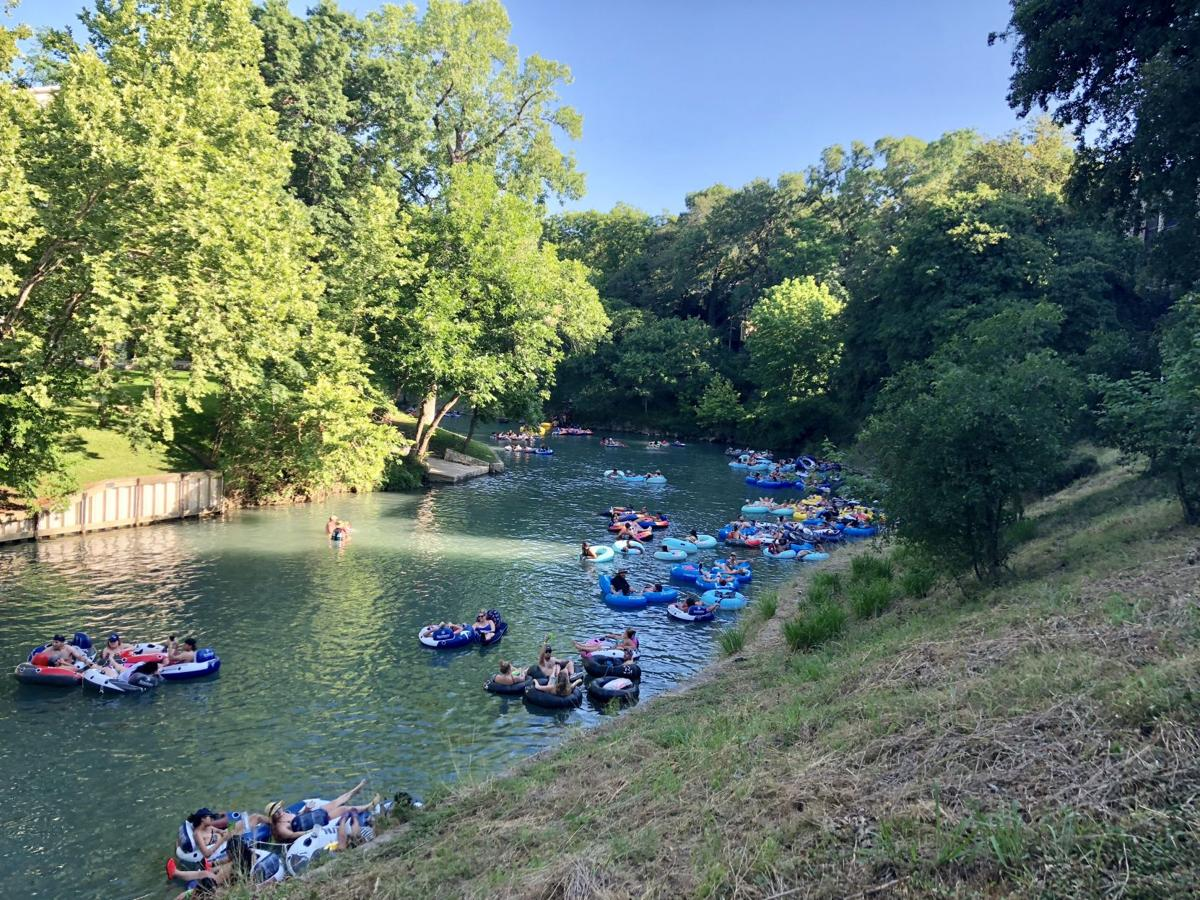 Floating the Comal