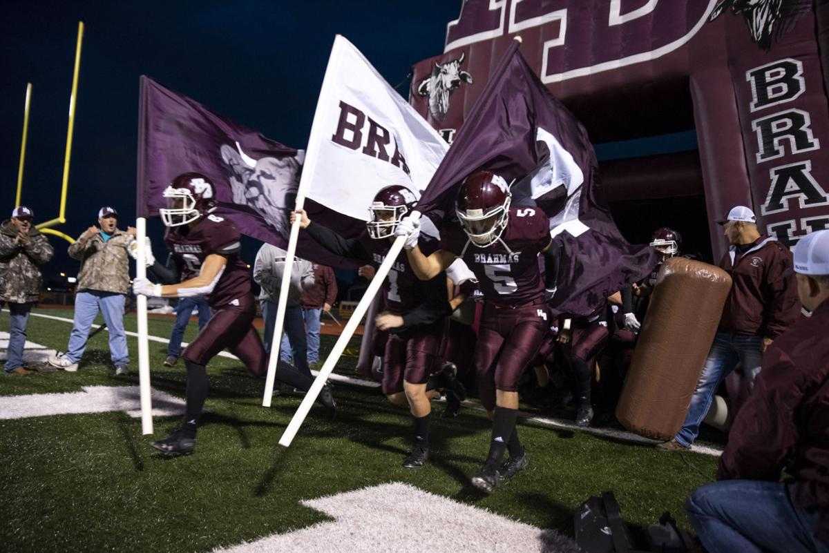 Hallettsville vs. Edna Football
