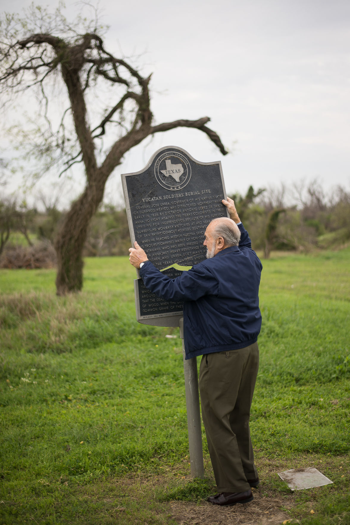 Officials work to restore historical markers