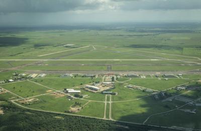 Victoria Regional Airport runway