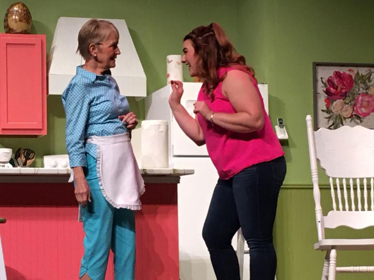 "Mary K. Rabe, of Cuero, will play Maude, and Emma Rose, of Refugio, will portray Hannah in Theatre Victoria's ""A Coupla White Chicks Sitting Around Talking"" at the Welder Center for the Performing Arts."