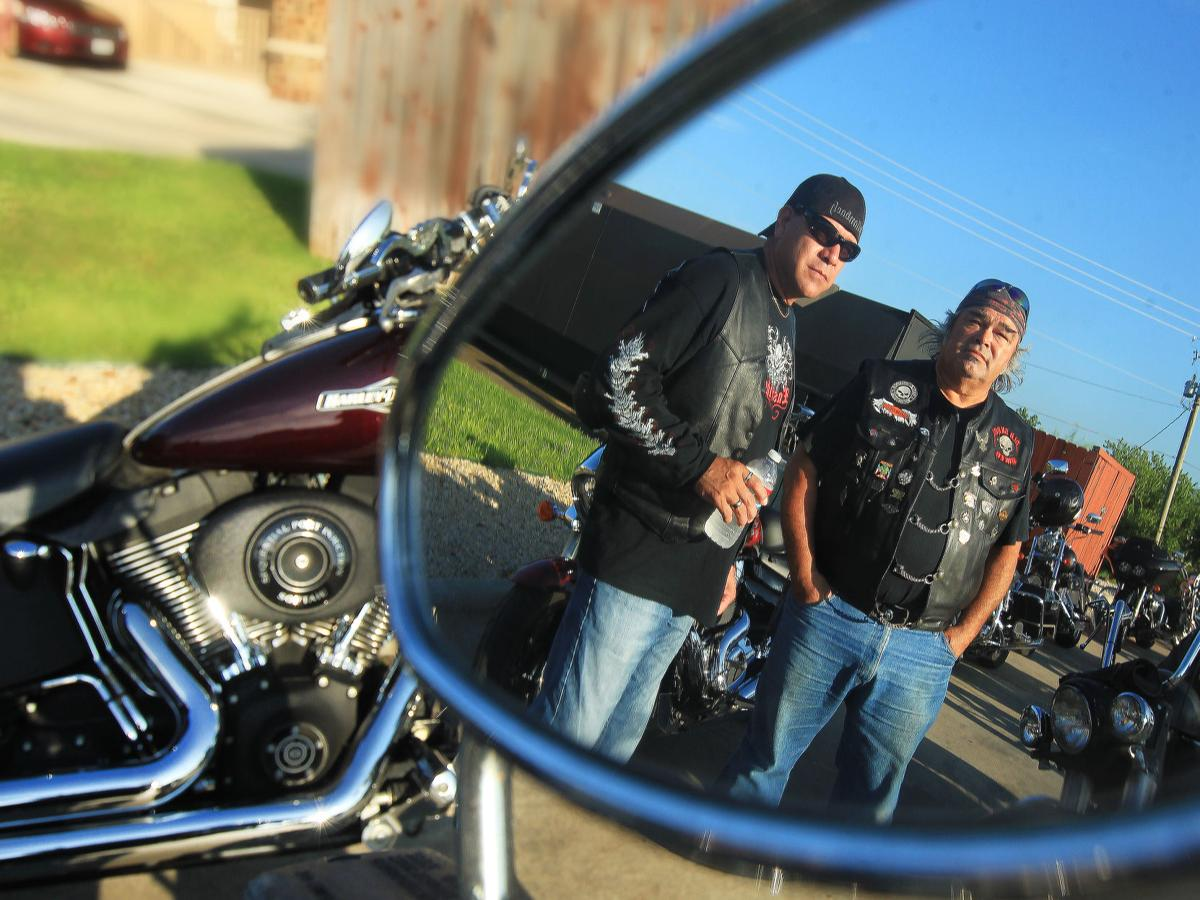 Motorcyclists raise awareness about child abuse honor for Garage ad buc