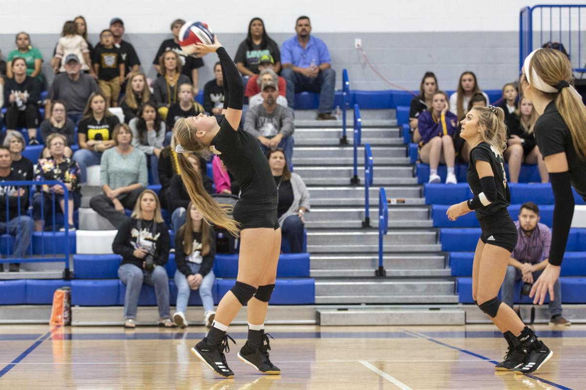 Flatonia vs. Yoktown Volleyball