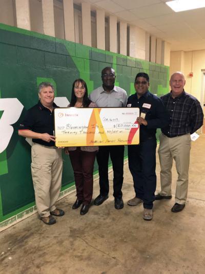 Invista donates to Bloomington school district's hurricane recovery