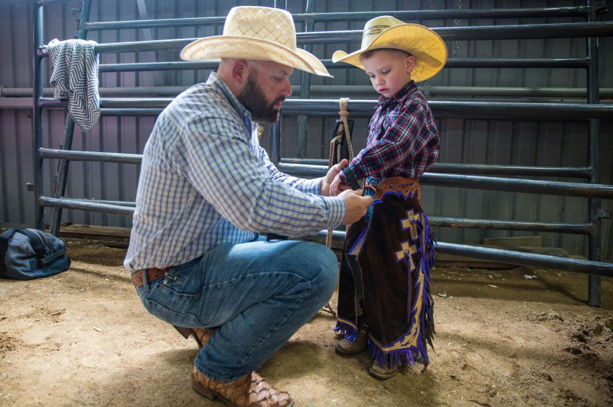 5eb9f77e6cf Registration soon to begin for mutton bustin  at Victoria Livestock Show