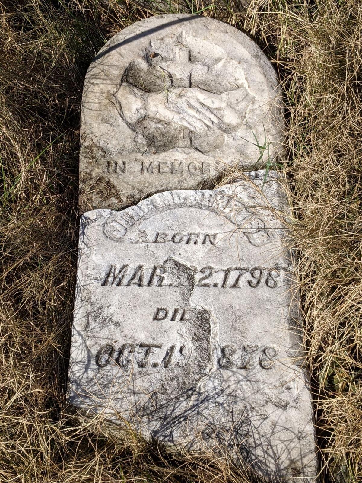 John McHenry's tombstone