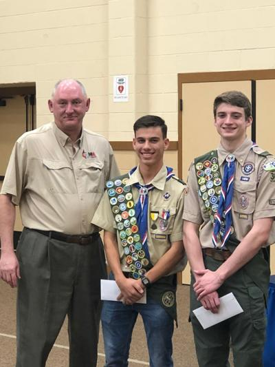 Eagle Scouts awarded scholarships