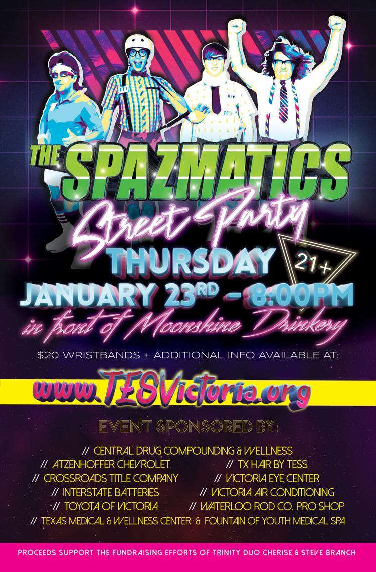 Spazmatics Street Party 2020