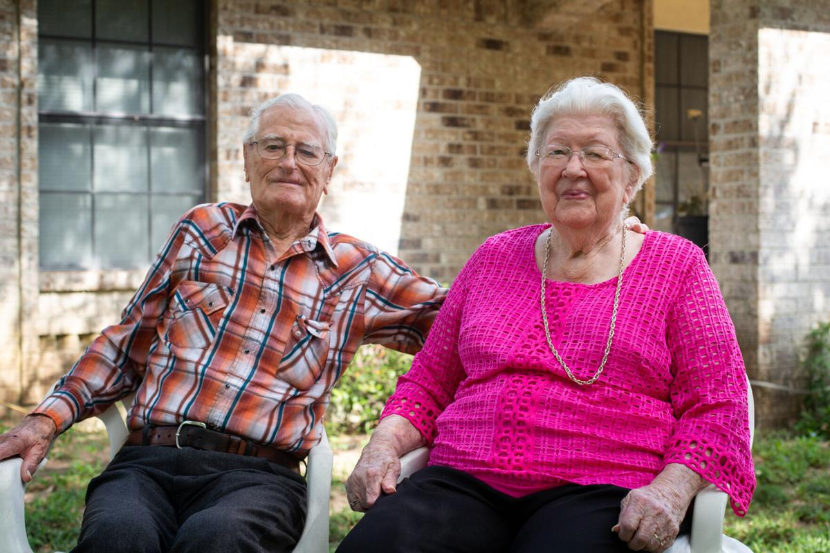 Louise and W.T. Kneblick celebrate 75th anniversary