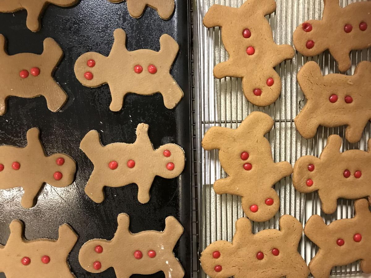 Fall foods: Gingerbread man cookies