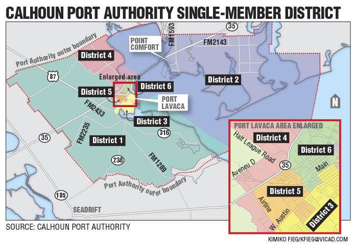 Calhoun Port Authority Districts