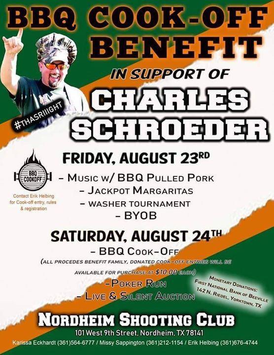 Charles Schroeder Benefit