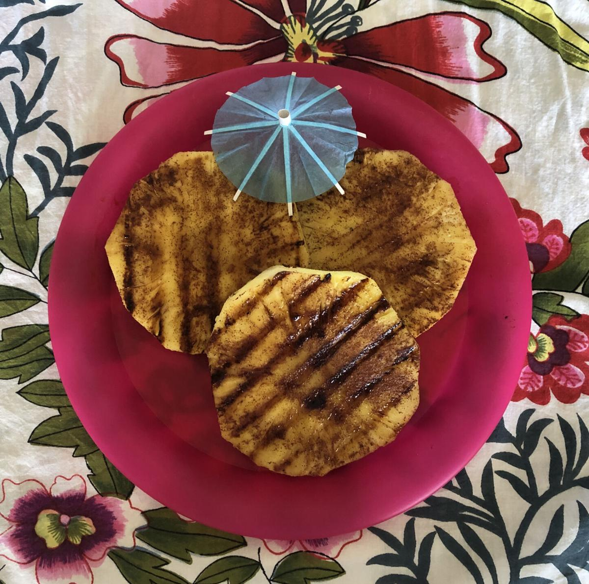 Katherine Compton made grilled pineapple similar to the dish she tried at Gauchos Do Sul in Houston