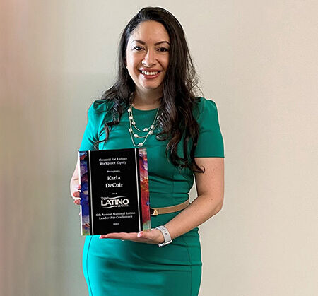 UHV staff member recognized as top Latino leader