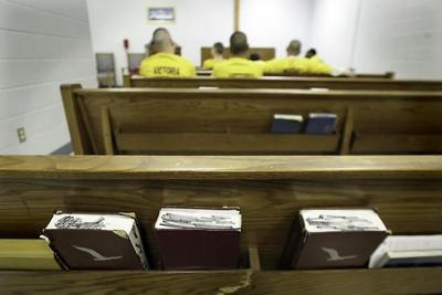 Volunteers provide ministry for county jail inmates | Faith