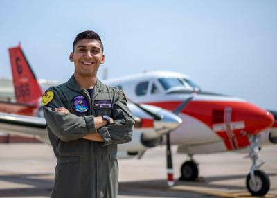Refugio Native trains to serve as the next generation of U.S. Naval Aviation Warfighters