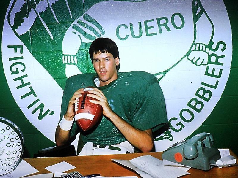 Former Cuero quarterback treasures memories of football career