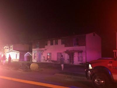 Oaklawn Street home burns