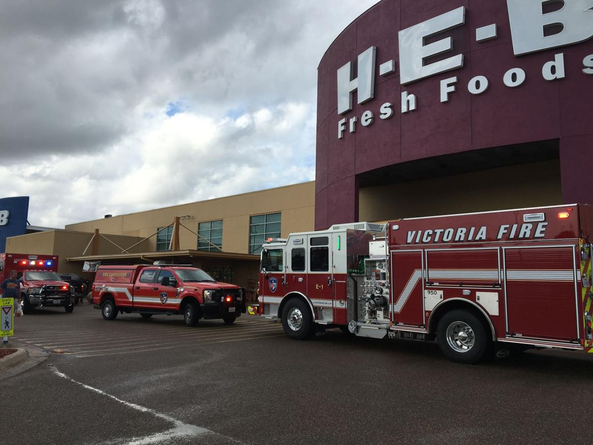 A man had his foot ran over in front of HEB on East Rio Grande Street