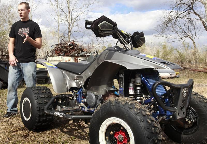 Racer Recovering After Motocross Accident Video Business