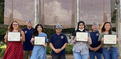Catholic War Veterans award scholarships
