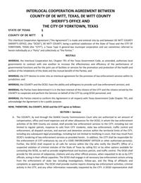 Interlocal agreement victoriaadvocate yorktown council approves new policing agreement platinumwayz