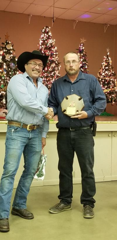 Brian Ladwig named Cuero VFD Firefighter of the Year for 2019