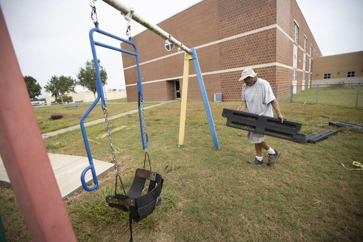 VISD elementary campuses get special needs playgounds