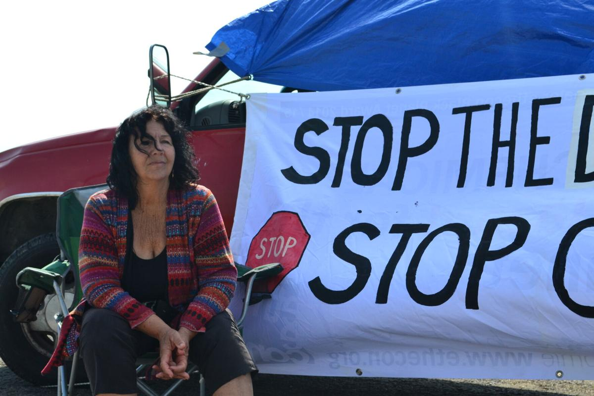 Environmental activist goes on hunger strike in protest of dredging project, oil exportation