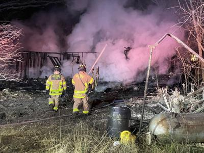 Contractor attempts improper controlled-burn of Victoria County house