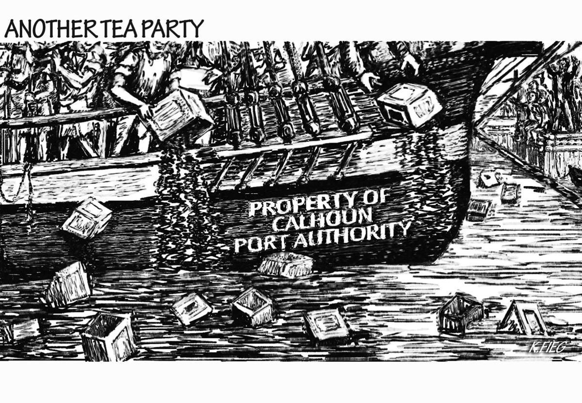 Another Tea Party (Calhoun Port Authority)
