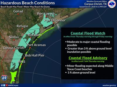 Coastal flooding expected ahead of Hurricane Delta's arrival