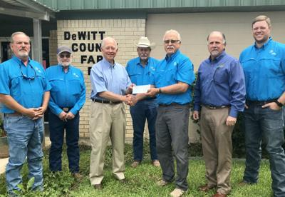 Neighbors Helping Neighbors: DeWitt County Farm Bureau donated to Cuero Community Foundation