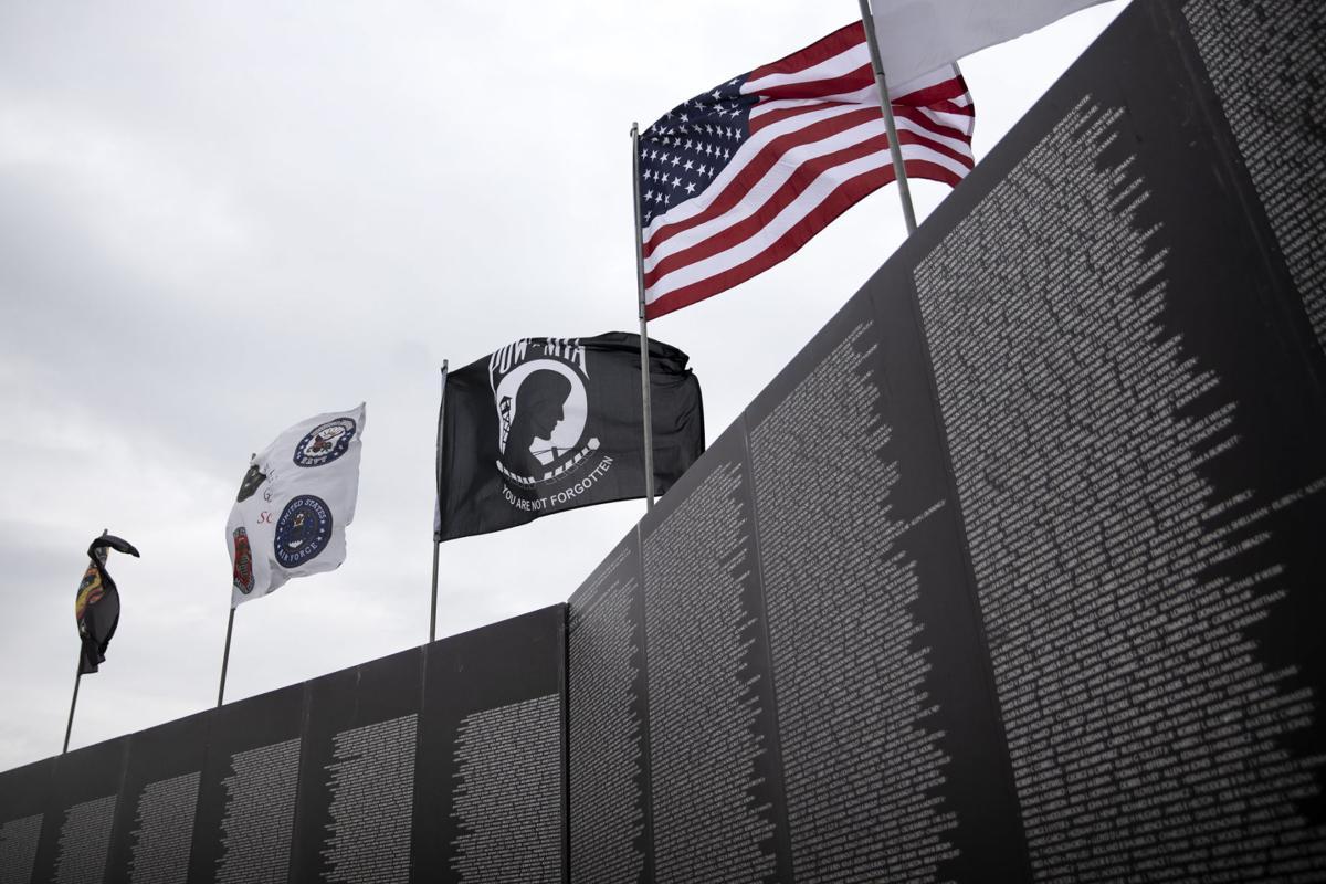 Vietnam wall in Goliad