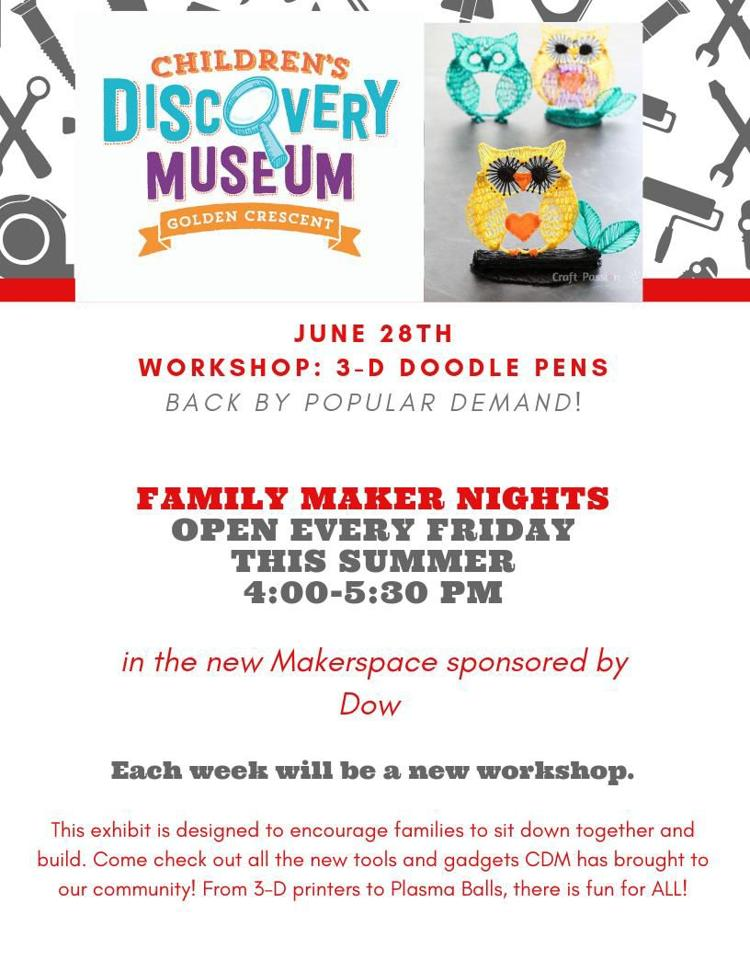 Family Maker Nights at the Children's' Discovery Museum
