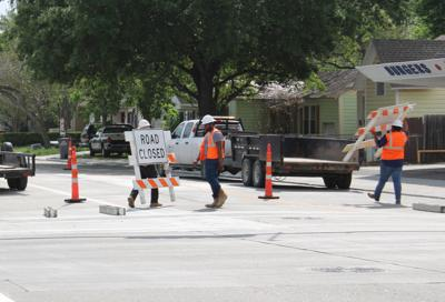 Move that barricade! Reconstructed stretch of Crestwood reopens