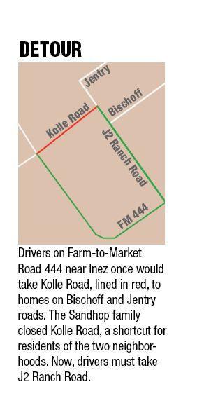 Kolle Road Closed