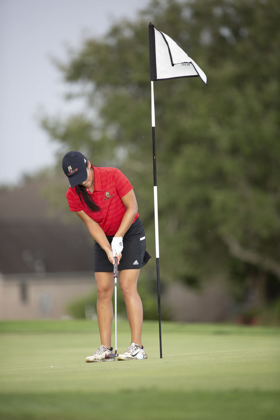 UHV golf called for weather