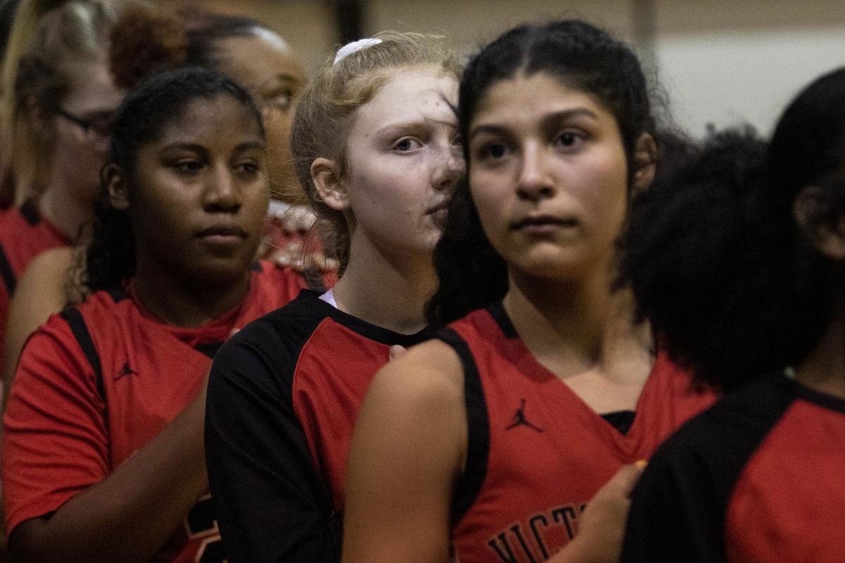 Victoria East vs West Girls Basketball
