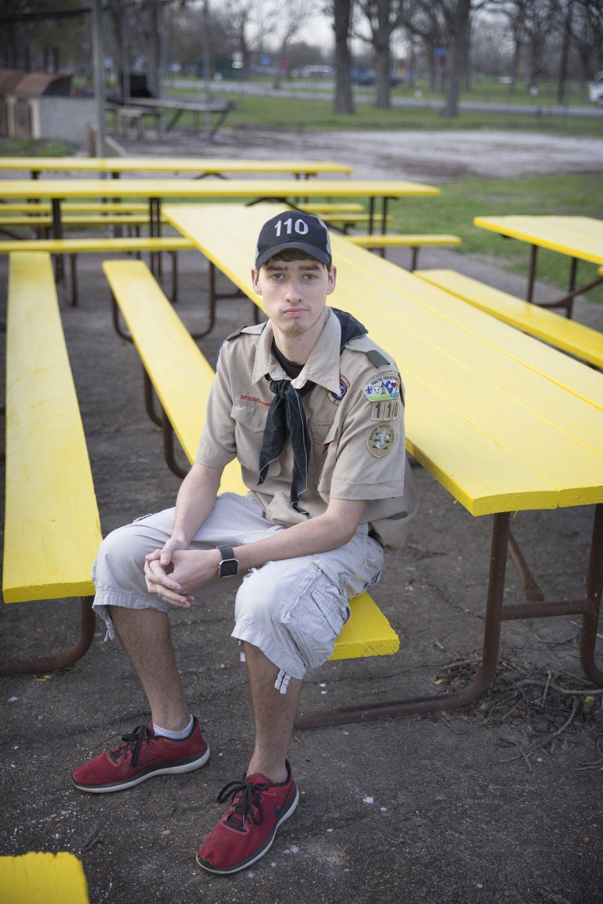 Local Scout revitalizes park pavilion.