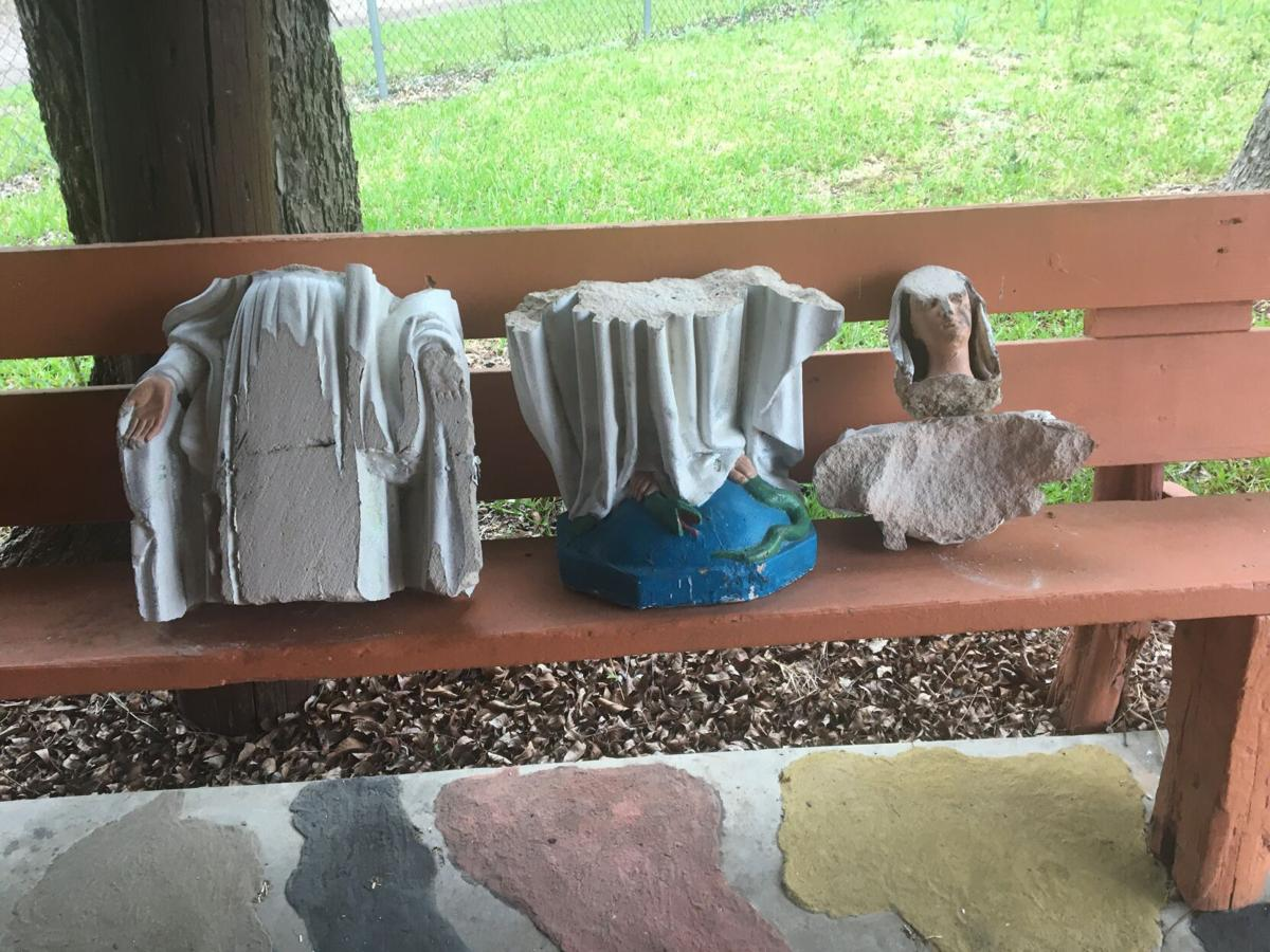 Shrine to Virgin Mary vandalized